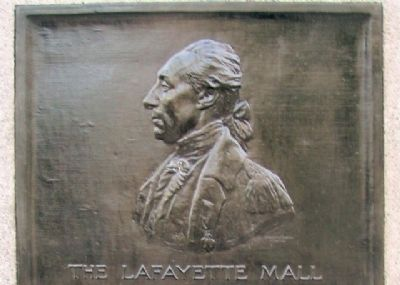 The Lafayette Mall Marker image. Click for full size.