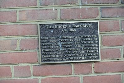 The Phoenix Emporium Marker image. Click for full size.