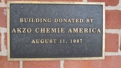 Home of James Van Horn Donation Plaque image. Click for full size.