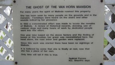 The Ghost of Van Horn Mansion image. Click for full size.
