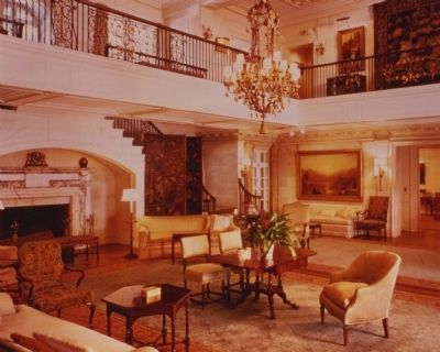 Interior of Reynolda House image. Click for full size.