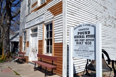 Front Facade of Pound General Store and Post Office image. Click for full size.