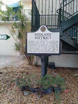 Redland District Marker image. Click for full size.