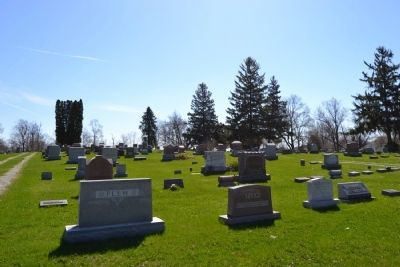 North Webster Cemetery image. Click for full size.