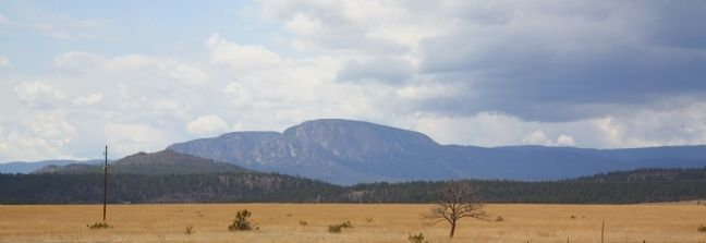 Hermit's Peak, New Mexico image. Click for full size.