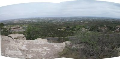 Panorama from Scenic Mountain image. Click for full size.