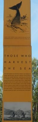 Those Who Harvest the Sea Marker image. Click for full size.