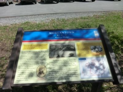 Morgantown Marker image. Click for full size.