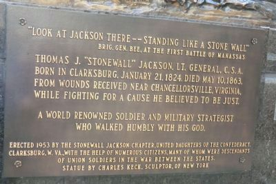 "Thomas J. ""Stonewall"" Jackson Monument image. Click for full size."