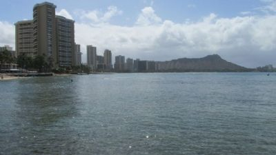 Waikiki and Diamond Head image. Click for full size.