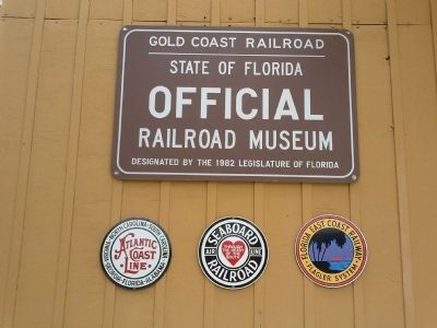 Gold Coast Railroad Museum Seals image. Click for full size.