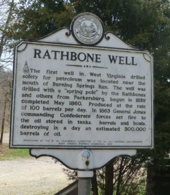 Rathbone Well Marker image. Click for full size.