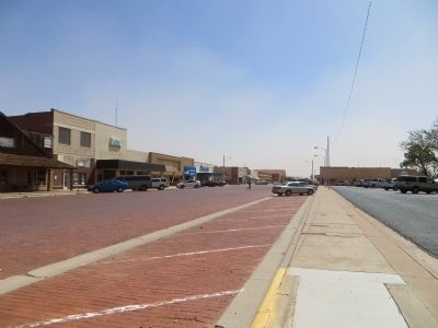 West Main Street, Brownfield, Texas image. Click for full size.
