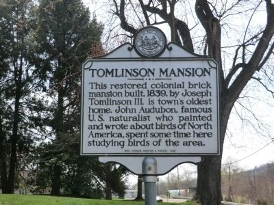 Tomlinson Mansion Marker image. Click for full size.