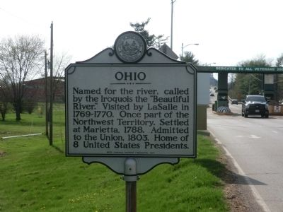Ohio Marker image. Click for full size.