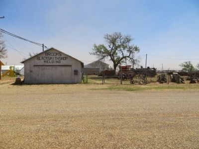 Brooks Blacksmith Shop image. Click for full size.