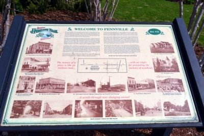 Welcome to Fennville Marker image. Click for full size.