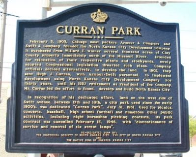 Curran Park Marker image. Click for full size.