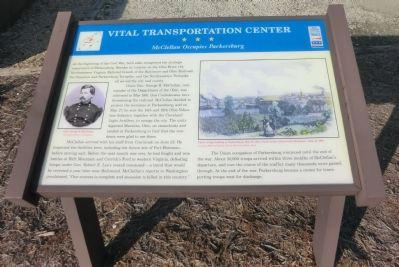 Vital Transportation Center Marker image. Click for full size.