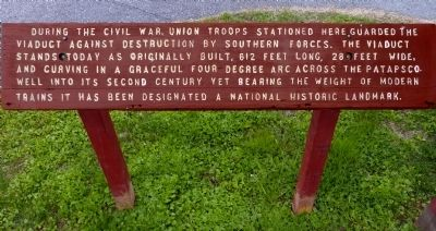 During the Civil War Marker image. Click for full size.