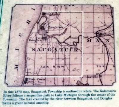 1873 Map of Saugatuck Township image. Click for full size.