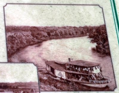 The A.R. Heath on the Kalamazoo River ca 1905 image. Click for full size.