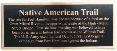 Native American Trail Marker image. Click for full size.