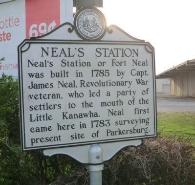 Neal's Station Marker image. Click for full size.