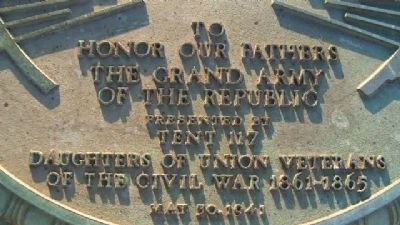 Grand Army of the Republic Memorial Marker image. Click for full size.