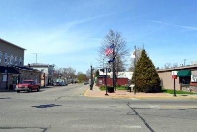 View to North along N. Main Street image. Click for full size.