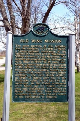 Old Wing Mission Marker image. Click for full size.