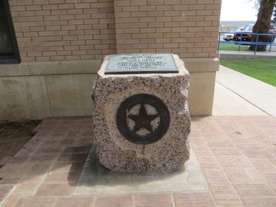 Parmer County Marker image. Click for full size.