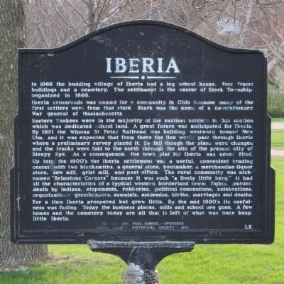 Iberia Marker image. Click for full size.