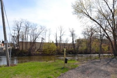View to South Across Kalamazoo River image. Click for full size.