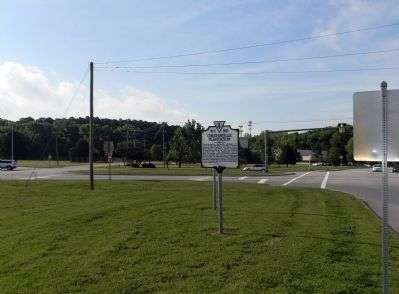 Wide view of the Chesterville Plantation Marker image. Click for full size.