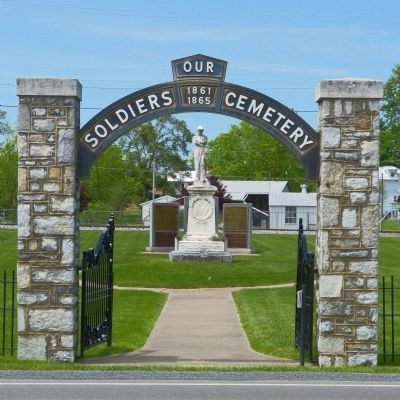Our Soldiers Cemetery image. Click for full size.