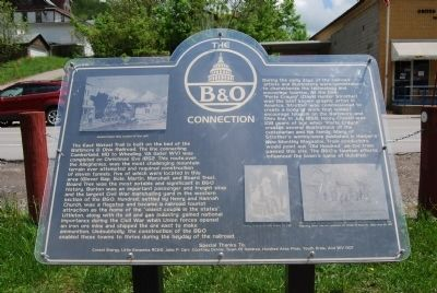 The B&O Connection Marker image. Click for full size.