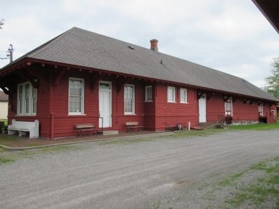North Side Wilson Depot image. Click for full size.