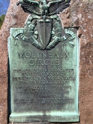 Molyneaux Circle Marker image. Click for full size.
