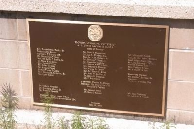 Florida Memorial University Marker image. Click for full size.