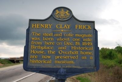 Henry Clay Frick Marker image. Click for full size.