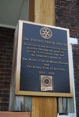 Young Frick House Marker image. Click for full size.