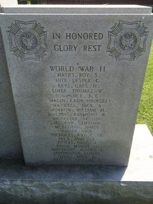 World War II - In Honored Glory Rest image. Click for full size.
