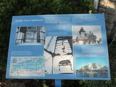 30 Mile Point Lighthouse Marker image. Click for full size.
