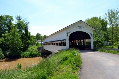 Westport Covered Bridge image. Click for full size.