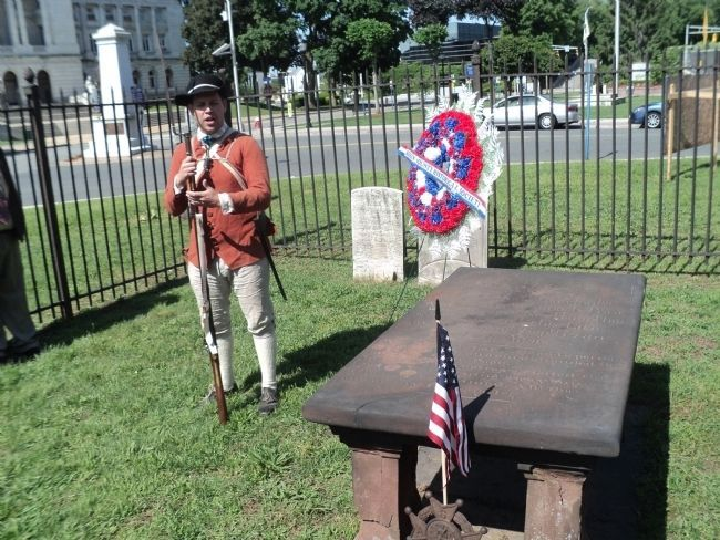 Memorial Day Ceremony at Poor's Garve image. Click for full size.