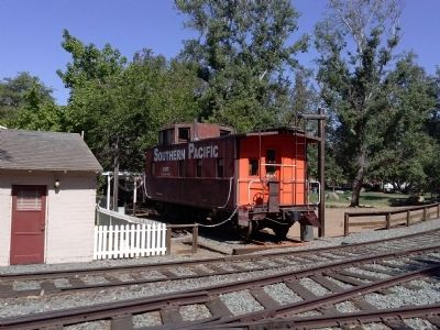 1937 Southern Pacific Caboose image. Click for full size.