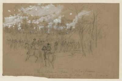 The advance upon Spotsylvania image. Click for full size.