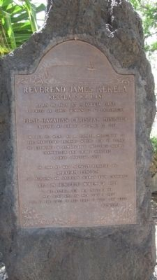Reverend James Kekela Marker image. Click for full size.