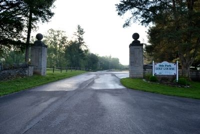 Otis Park Gate Entrance image. Click for full size.